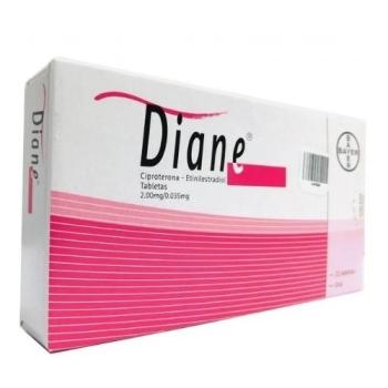 diane ciproterona etinilestradiol anticonceptivo
