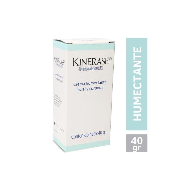 KINERASE (N6-FURFURILADENINA) CREMA HUMECTANTE FACIAL Y CORPORAL 40G