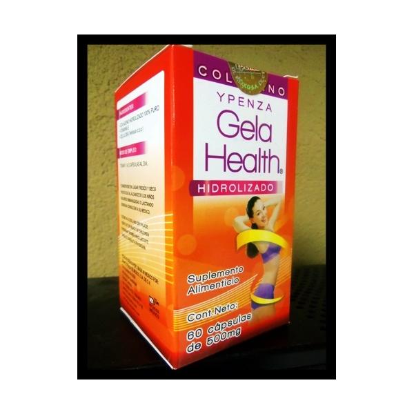 GELA HEALTH COLAGENO HIDROLIZADO 500MG 60CAP