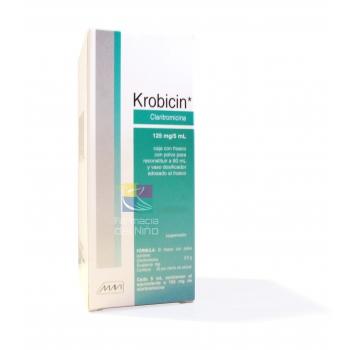 KROBICIN (Claritronicina) 125mg/5ml susp60ml
