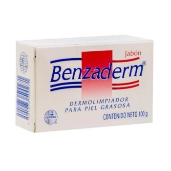 BENZADERM JABON 100 G DERMOLIMPIADOR