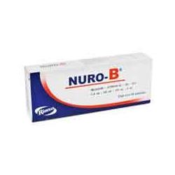 Nuro B Meloxicam Vitaminas B1 B6 B12 15mg C 10