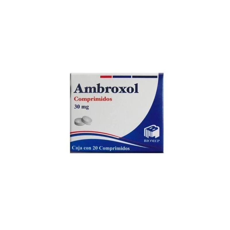 AMBROXOL 20 comprimidos - Farmacia Del Niño - FARMACIA