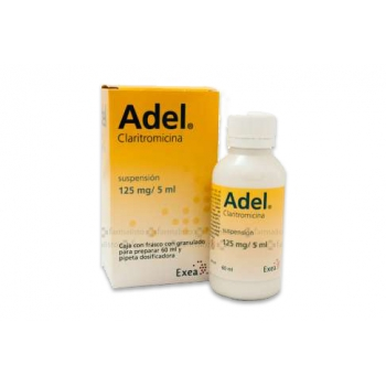 Adel Claritromicina 125 Mg Suspension Farmacia Del Nino