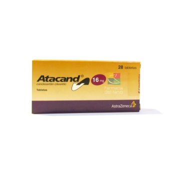 Atacand Candesartan Cilexetilo 16mg 28tab Farmacia Del