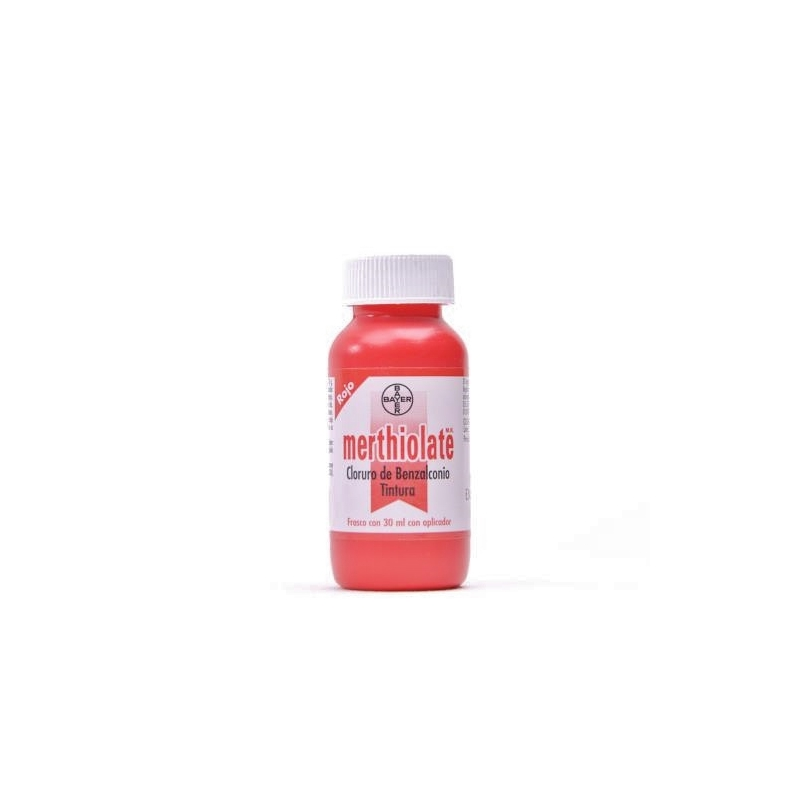 MERTHIOLATE ROJO 30ML