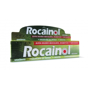 ROCAINOL BÁLSAMO UNGÜENTO 45 GR (Salicilato de metilo/ Mentol)