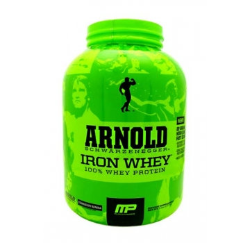 IRON WHEY 5 LBS STRAWBERRY BANANA