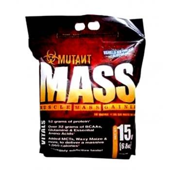 MUTANT MASS 15 LBS VANILLA ICE CREAM