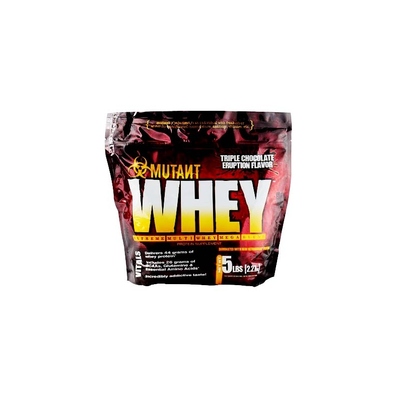 MUTANT WHEY 5 LBS TRIPLE CHOCOLATE ERUPTION