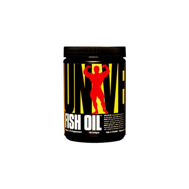 FISH OIL 100 CAPSULAS