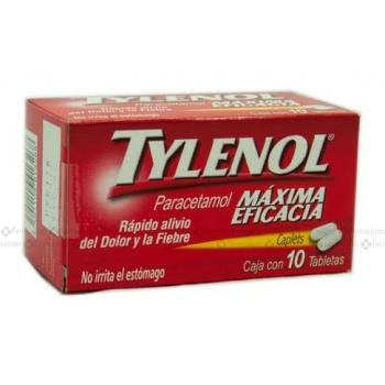TYLENOL MAXIMA EFICACIA 10 CAP 500MG