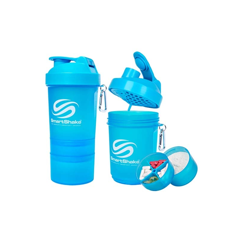 SMARTSHAKE 200oz/600ml- neon blue