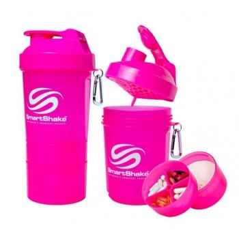 SMARTSHAKE 200oz/600ml- neon pink
