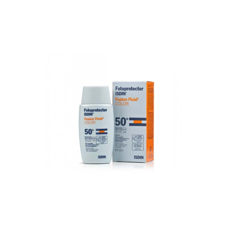 FOTOPROTECTOR ISDIN FUSION FLUID COLOR SPF50+ 50ml