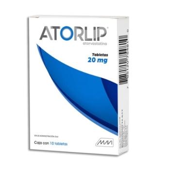 ATORLIP (ATORVASTATINA) 20MG 10TAB - Farmacia Del Niño - FARMACIA ...