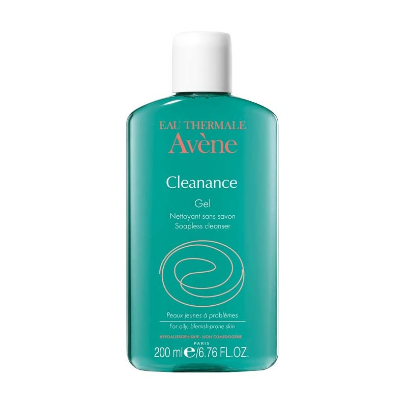 AVENE CLEANANCE GEL LIMPIADOR CARA-CUERPO 200ML