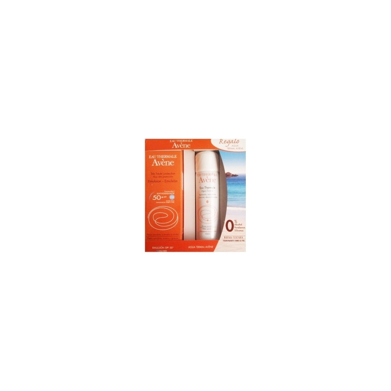 AVENE CREMA COLOREADA FPS 50+ + SPRAY AGUA TERMAL 50ML