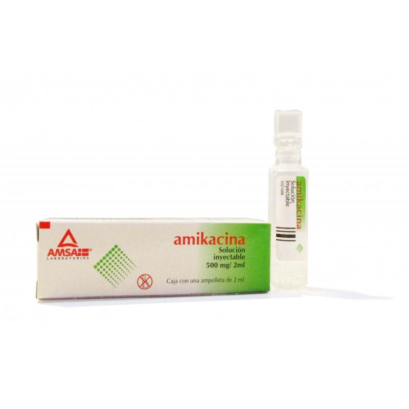 AMIKACINA 500MG/2ML 1 amp - Farmacia Del Niño - FARMACIA