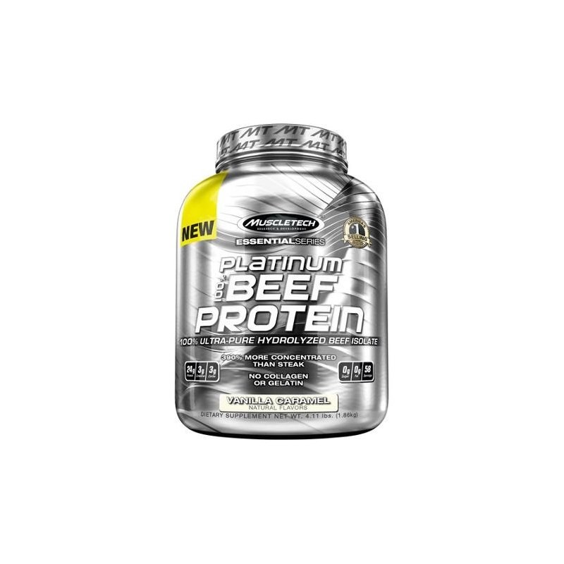 PLATINUM BEEF PROTEIN 4.11 LBS VAINILLA CARAMELO