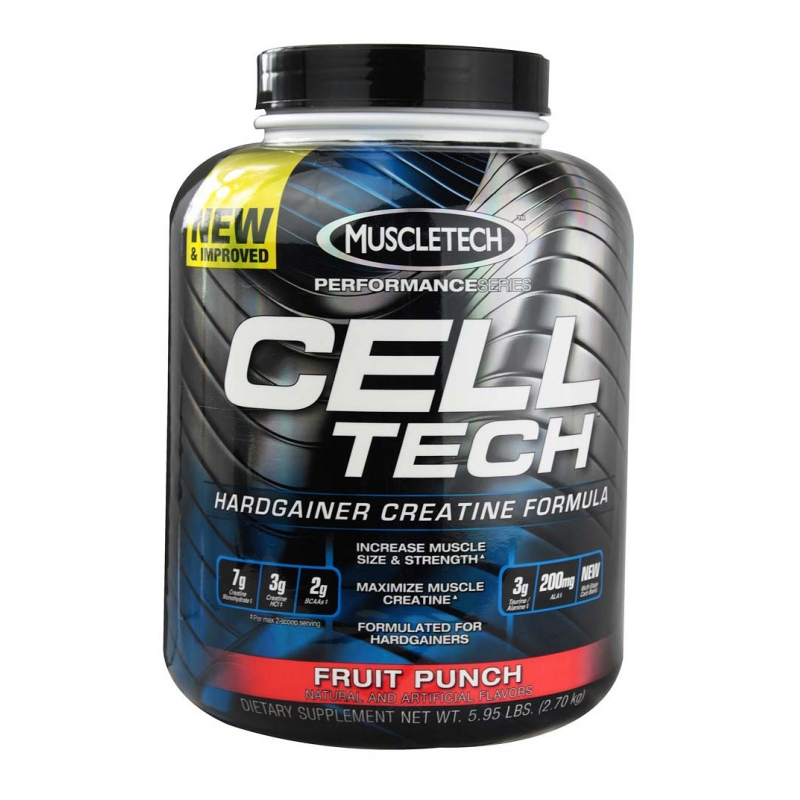 PERFORMANCE SERIES CELL-TECH 6 LBS FRUIT PUNCH