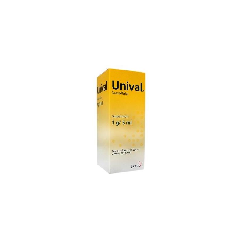 UNIVAL (sucralfato) 1G/5ML SUSPENSION - Farmacia Del Niño