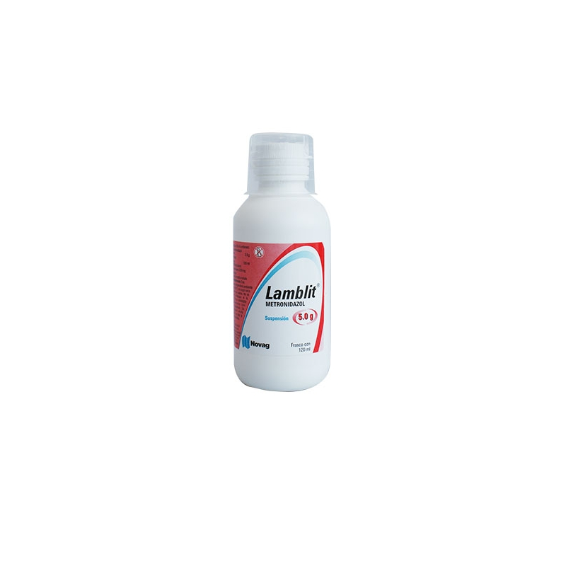 LAMBLIT (metronidazole) SUSP 250MG 120ML *THIS PRODUCT IS ONLY AVAILABLE IN MEXICO