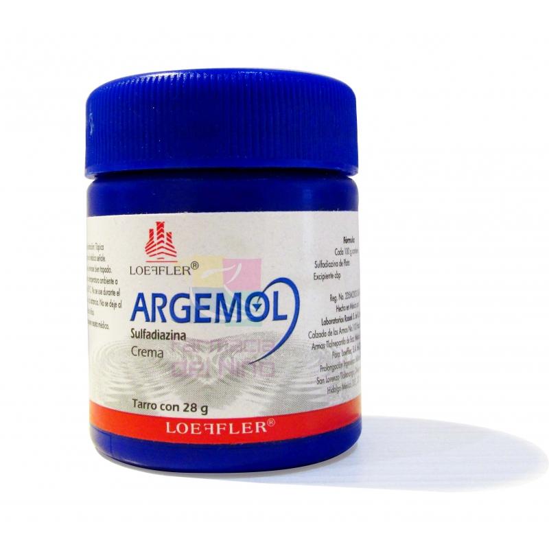 Argemol Silver Sulfadiazine Cream 28g Farmacia Del