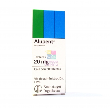 ALUPENT (ORCIPRENALINA) 30 COMPR
