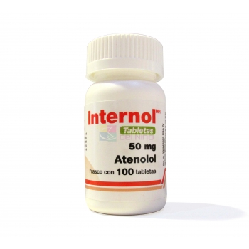 INTERNOL (ATENOLOL) 50 MG 100 TAB