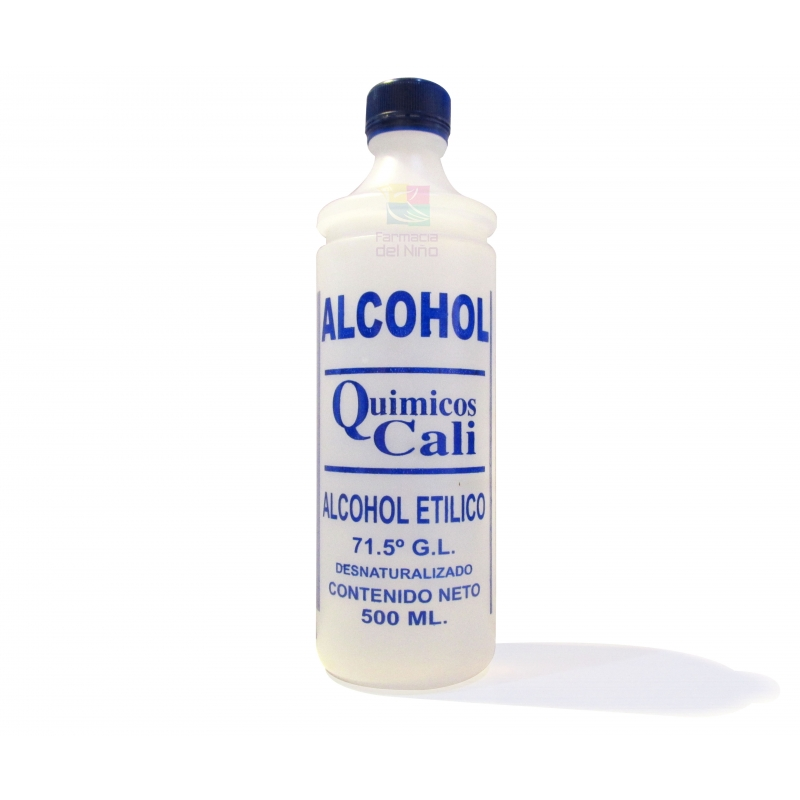 ALCOHOL DESNATURALIZADO CALI 500ML