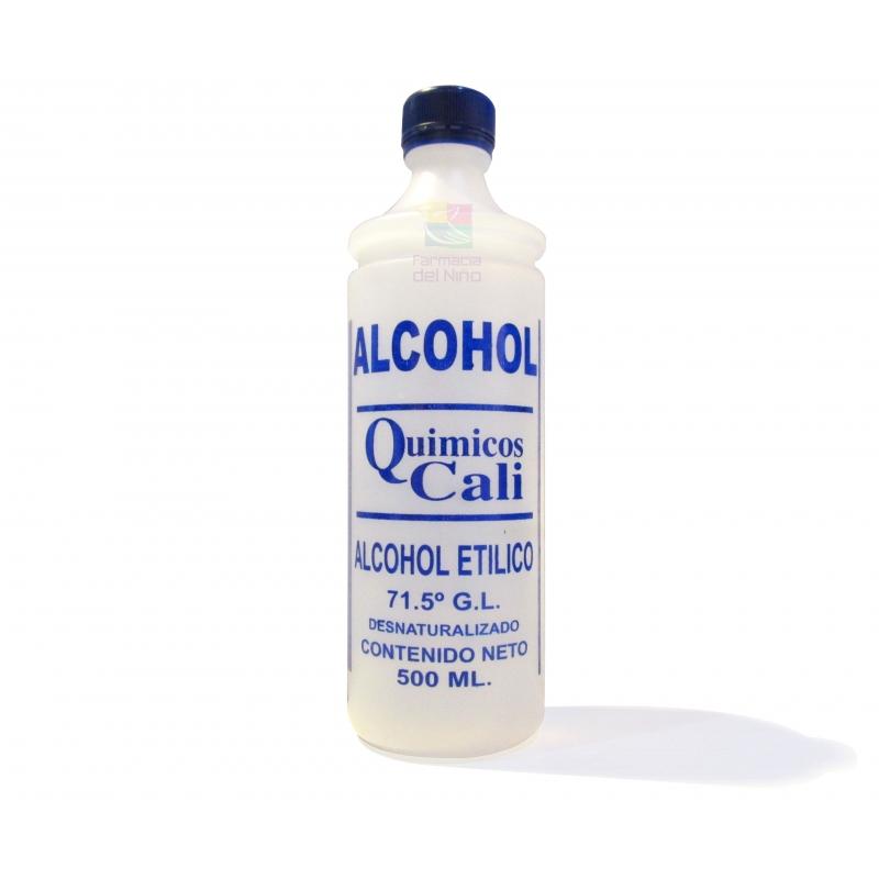 ALCOHOL DESNATURALIZADO CALI 500ML - Farmacia Del Niño