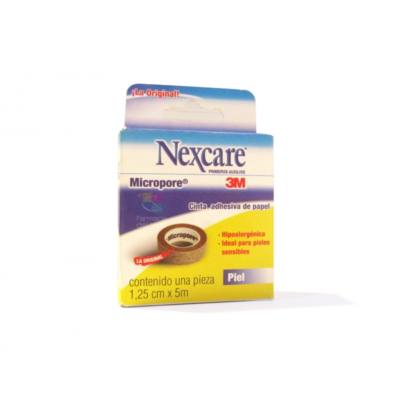 NEXCARE MICROPORE TAPE SKIN COLOR 1.25CMX5MTS