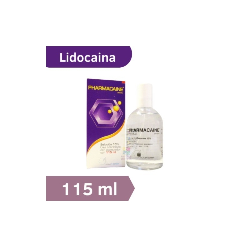 PHARMACAINE (LIDOCAINA) SOL. 10% SPRAY 115ML - Farmacia