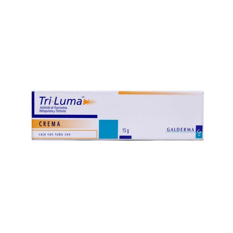 TRI-LUMA (FLUOCINOLONA ACETONIDA /HIDROQUINONA)  CREMA 15G