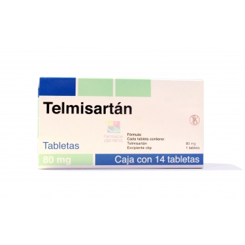 TELMISARTAN (Boehringer) 14 TABS 80 MG