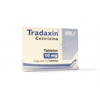 TRADAXIN (CETIRIZINE) 10 TABS 10 MGS