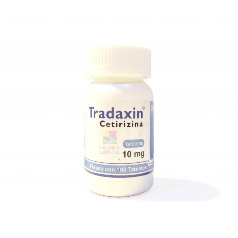 TRADAXIN (CETIRIZINE) 100 TABS 10 MG