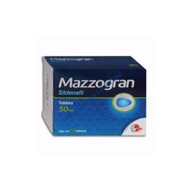 MAZZOGRAN 50 mg c/10 tabletas