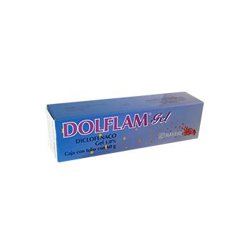 DOLFLAM GEL (DICLOFENACO) 1% 60G