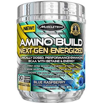 AMINO BUILD NEXT GEN ENERGY BLUE RASPSBERRY