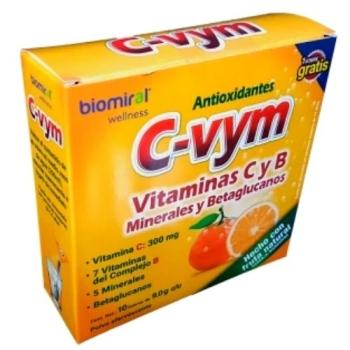 C-VYM (VITAMINAS CYB MINERALES) 10 SOBRES 9.0G EFERVESCENTE