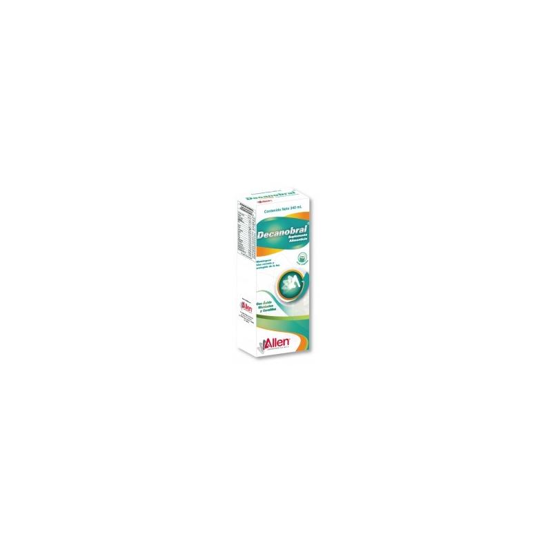 DECANOBRAL (GLUTAMICO/CARNITINA) SOLUCION 340ML