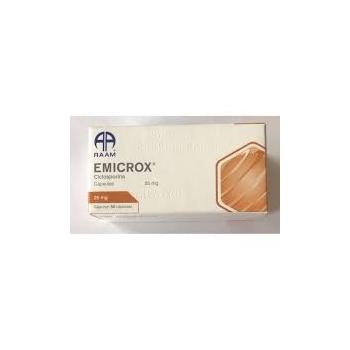 EMICROX (CICLOSPORINA) 25MG 50CAPS