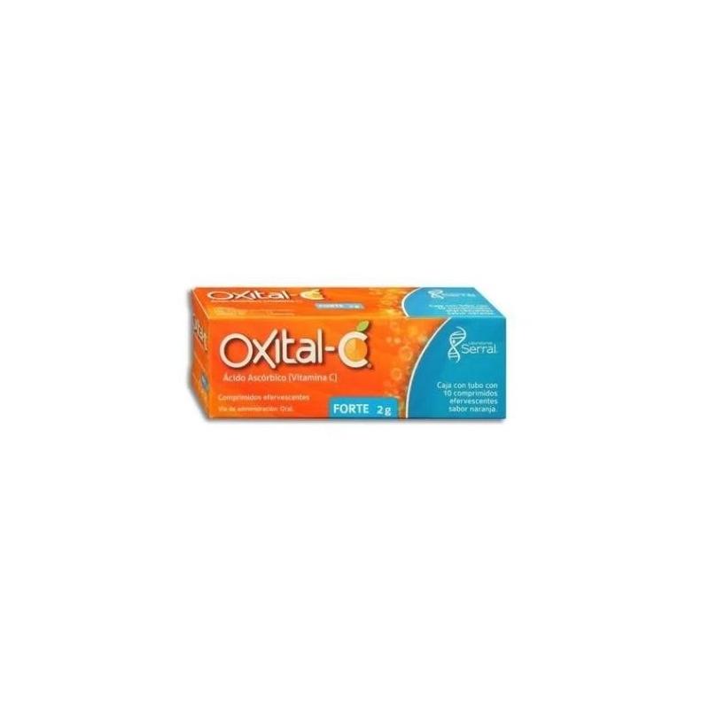 IXITAL-C (VITAMINA C) ORAL 2G 10 TABLETAS EFERVESCENTES