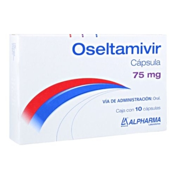 OSELTAMIVIR (FOSFATO DE OSELTAMIVIR) 75MG 10 CAPSULAS