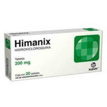 HIMANIX (HIDROXICLOROQUINA) 200MG 20 TABLETAS