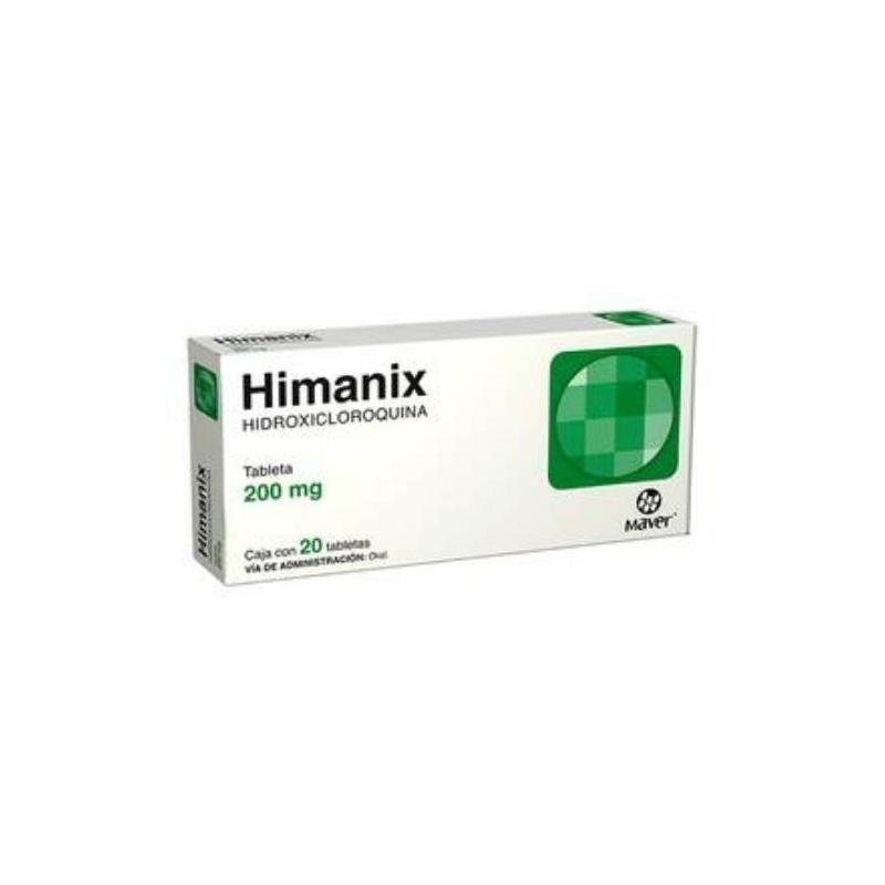 HIMANIX (HIDROXICLOROQUINA) 200MG 20 TABLETS