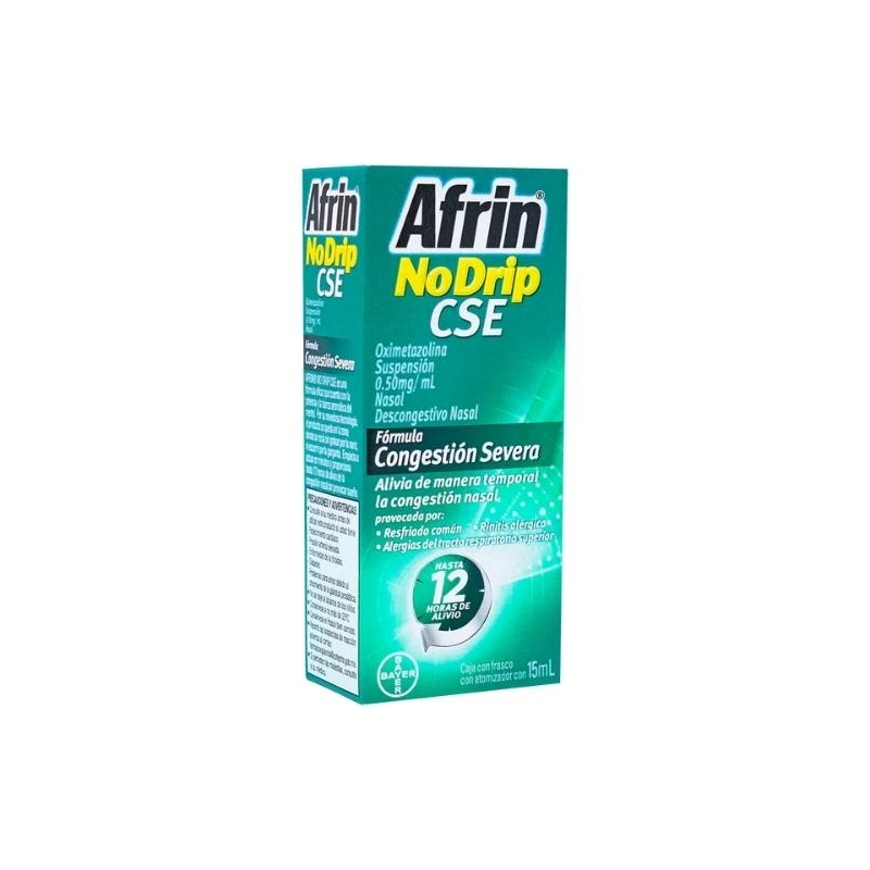 AFRIN NODRIP CSE (OXIMETAZOLINA) 15 ML ATOMIZER
