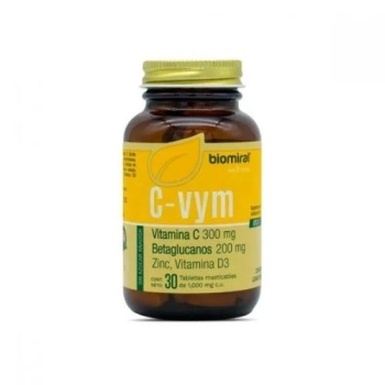 C-VYM (VITAMIN C, BETAGLUCANOS, ZINC AND VITAMIN D3) 1000MG 30 TABLETS